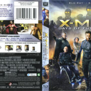 X-Men: Days Of Future Past (2014) R1 Blu-Ray Cover & Label