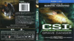 CSI: Grave Danger (2005) R1 Blu-Ray Cover & Labels