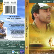 Million Dollar Arm (2014) R1 Blu-Ray Cover & Label
