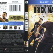 Brick Mansions (2014) R1 Blu-Ray Cover & Label