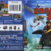 How To Train Your Dragon 2 (2014) R1 Blu-Ray Cover & Labels