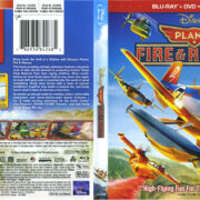 Planes: Fire & Rescue (2014) R1 Blu-Ray Cover & Labels