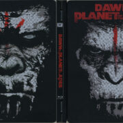 Dawn Of The Planet Of The Apes (2014) R1 Blu-Ray Cover & Labels