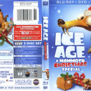 Ice Age: A Mammoth Christmas Special (2011) R1 Blu-Ray Cover & Labels