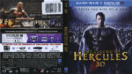 The Legend Of Hercules (2014) R1 Blu-Ray Cover & Label