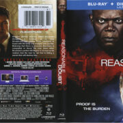 Reasonable Doubt (2014) R1 Blu-Ray Cover & Label