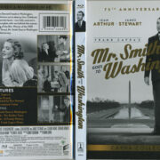 Mr. Smith Goes To Washington (1939) R1 Blu-Ray Cover & Label