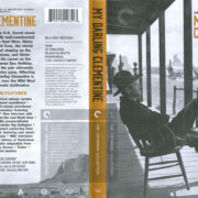 My Darling Clementine (1946) R1 Blu-Ray Cover & Label