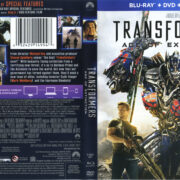 Transformers: Age Of Extinction (2014) R1 Blu-Ray Cover & Labels