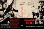 Savage Dog (2017) R0 CUSTOM Cover & Label