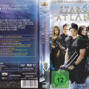 Stargate Atlantis: Season 3 (2004 – 2008) R2 German Cover & Labels