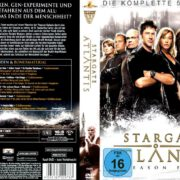 Stargate Atlantis: Season 5 (2004 – 2008) R2 German Cover & Labels