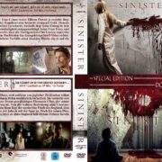 Sinister 1+2 (Double Feature) (2015) R2 GERMAN Custom DVD Cover