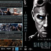 Die Riddick Trilogie (2013) R2 GERMAN Custom DVD Cover