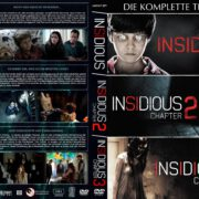 Insidious 1-3 (Trilogie) (2015) R2 GERMAN Custom DVD Cover