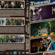 The Purge 1-3 (Trilogie) (2016) R2 GERMAN Custom DVD Cover