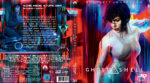 Ghost in the Shell 3D (2017) R2 German Custom Blu-Ray Cover & Label
