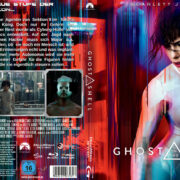 Ghost in the Shell (2017) R2 German Custom Blu-Ray Cover & Label