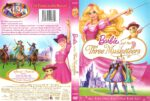 Barbie and the Three Musketeers (2009) R1 DVD Cover