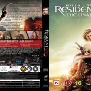 Resident Evil: The Final Chapter (2016) R2 Nordic Retail Blu-Ray Cover + Custom Label
