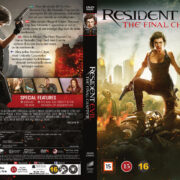 Resident Evil: The Final Chapter (2016) R2 Nordic Retail DVD Cover + Custom Label