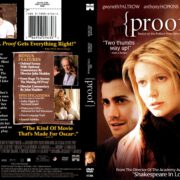 Proof (2005) R1 DVD Cover