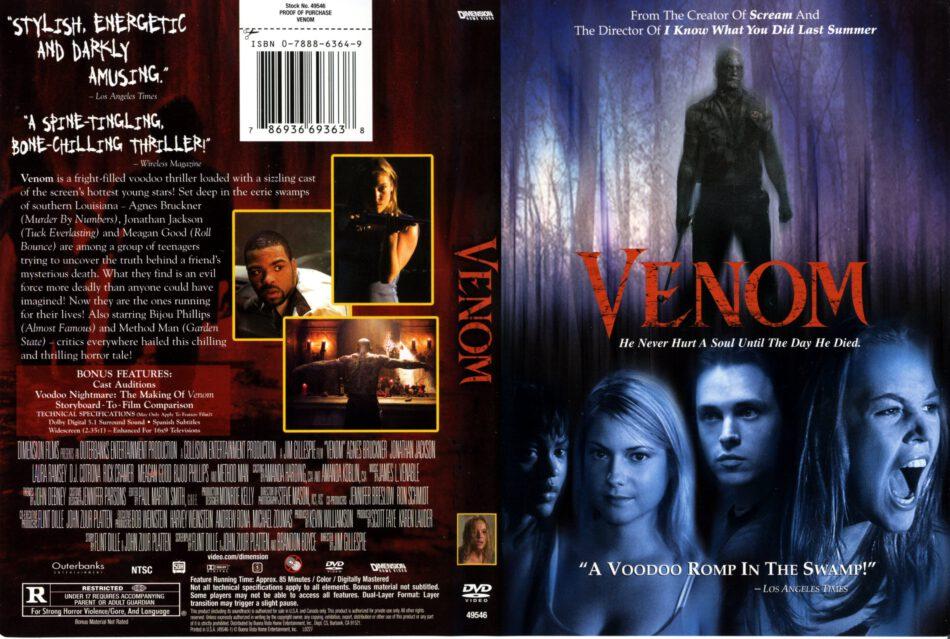 Venom dvd cover (2006) R1