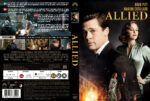 Allied (2016) R2 Nordic Custom DVD Cover + Label