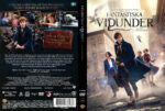 Fantastic Beasts and Where to Find Them (2016) R2 Swedish Retail DVD Cover + custom label