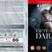 Fifty Shades Darker (2017) R2 Nordic Retail Blu-Ray Cover + custom label