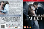 Fifty Shades Darker (2017) R2 Nordic Retail DVD Cover + custom label