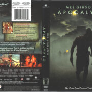 Apocalypto (2006) R1 DVD Cover & Label