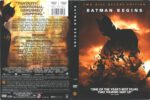 Batman Begins (2005) R1 DVD Cover
