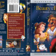Beauty And The Beast (1991) R1 Cover & Label