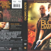 Blood Diamond (2006) R1 Cover & Label
