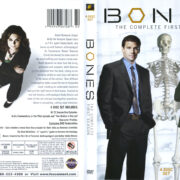Bones: Season 1 (2005) R1 DVD Cover
