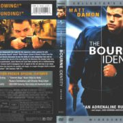 The Bourne Identity (2002) R1 DVD Cover