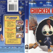 Chicken Little (2005) R1 DVD Cover & Label