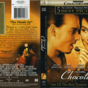 Chocolat (2000) R1 DVD Cover & label