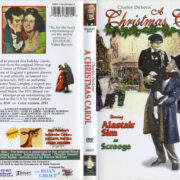 A Christmas Carol (1951) R1 DVD Cover & Label
