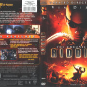 The Chronicles Of Riddick (2004) R1 Cover & Label