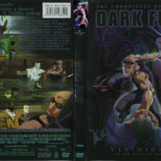 The Chronicles Of Riddick: Dark Fury (2004) R1 Cover & label
