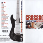 Eric Clapton: Crossroads (2007) R1 Cover & Labels