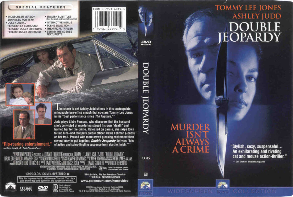 Double Jeopardy Dvd Cover 1999 R1