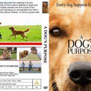 A Dog's Purpose (2017) R0 CUSTOM Cover & Label