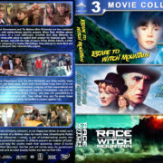 Escape to…Return from…Race to Witch Mountain Triple (1975-2009) R1 Custom Cover