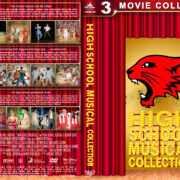 High School Musical Collection (2006-2008) R1 Custom Cover