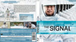 The Signal (2014) R2 German Custom Blu-Ray Cover & Label