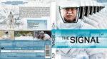 The Signal (2014) R2 German Custom Blu-Ray Cover & Label
