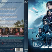 Rogue One - A Star Wars Story (2016) R2 German Custom Blu-Ray Cover & Labels